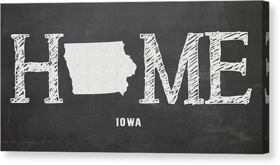 Iowa State University Canvas Print - Ia Home by Nancy Ingersoll