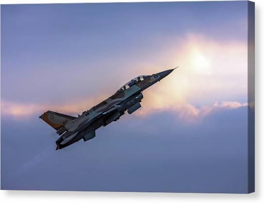 Iaf F-16i Sufa Nr. 107 Canvas Print