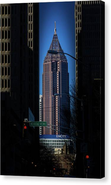 Ibm Tower Canvas Print