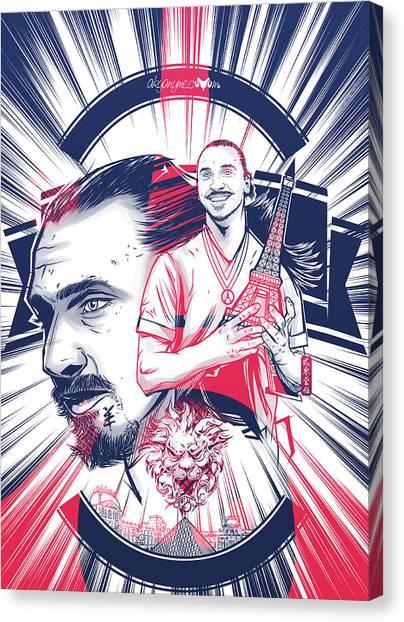 Taekwondo Canvas Print - Ibracadabra by Akyanyme