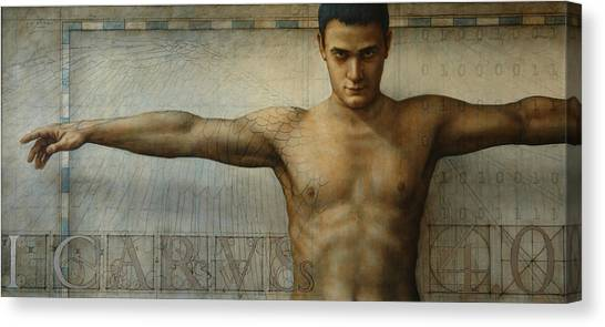 Icarus 4.0 Canvas Print by Jose Luis Munoz Luque