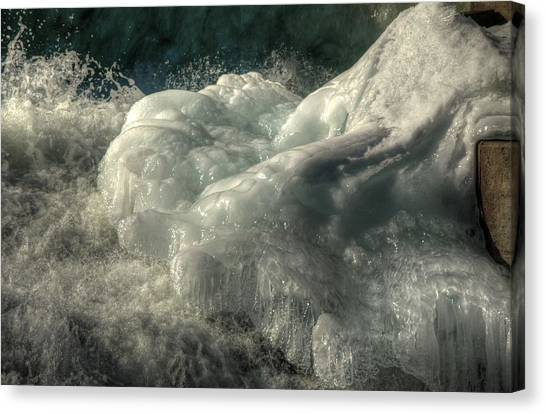 Ice Cap 2 Canvas Print by Rick Couper