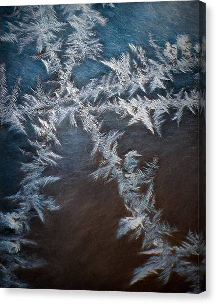 Fractal Canvas Print - Ice Crossing by Scott Norris