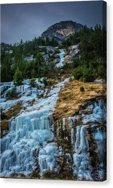 Ice Fall Canvas Print