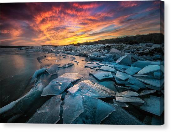 Ice Floe Canvas Print