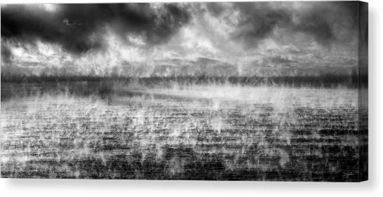 Ice Fog  Canvas Print