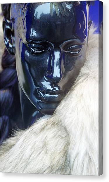 Ice Queen Canvas Print by Jez C Self