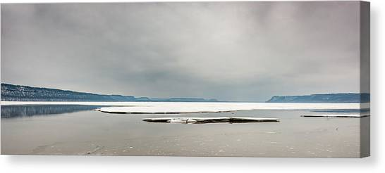 Ice Sheet Canvas Print