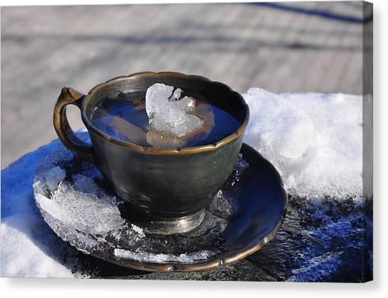 Iced Tea Canvas Print - Ice Tea by Evgeni Yakersberg