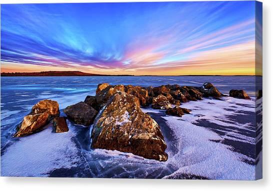 Icebound 2 Canvas Print