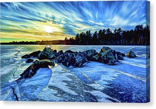 Icebound 5 Canvas Print