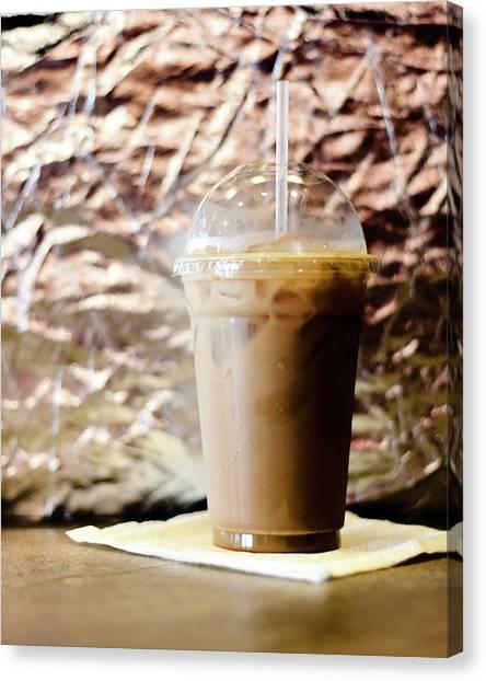 Iced Coffee 2 Canvas Print