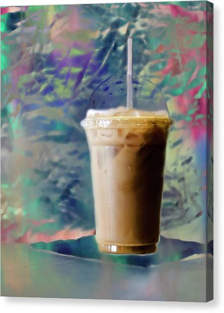Iced Coffee 3 Canvas Print