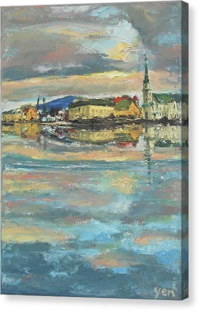 Icelandic 9 - Serene Canvas Print
