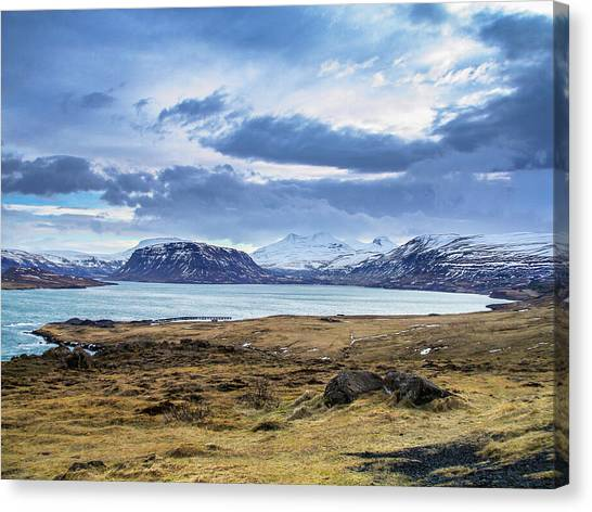 Icelandic Blues Canvas Print