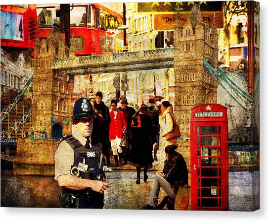 Iconic London Canvas Print