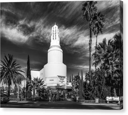 Iconic Tower Theatre Canvas Print