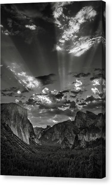 Ansel Adams Canvas Print - Icons And Legends by Thorsten Scheuermann