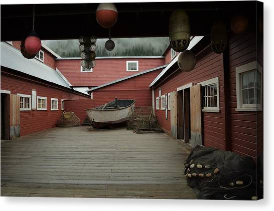 Icy Strait Point Cannery Museum Canvas Print