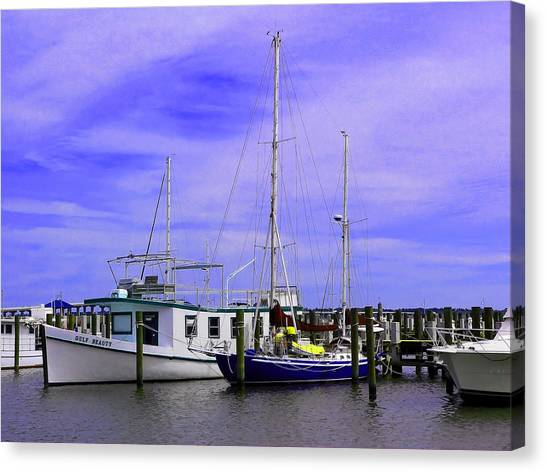 I Would Rather Be Sailing Canvas Print