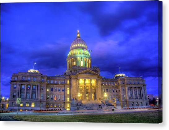 Idaho State Capital Canvas Print