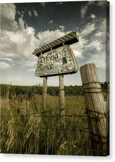 Ideal Driving Range Canvas Print