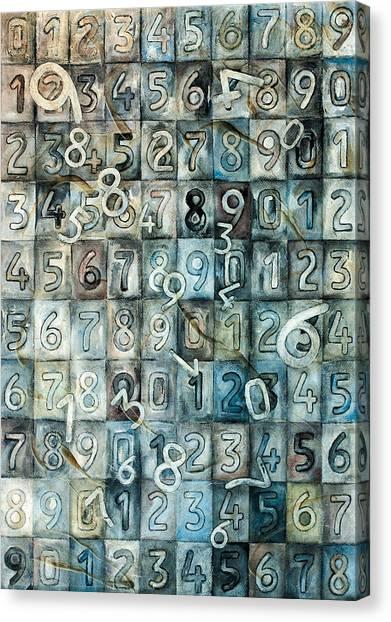 Jasper Johns Canvas Print - Identidad by Sandra Oistaczer