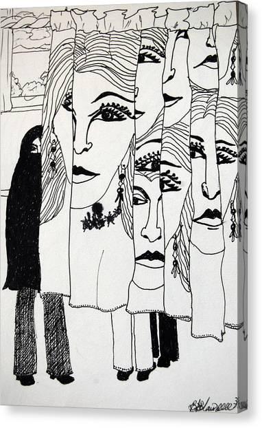 Identity Crisis Canvas Print