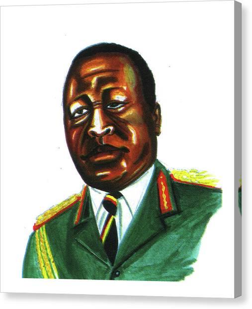 Idi Amin Dada Canvas Print