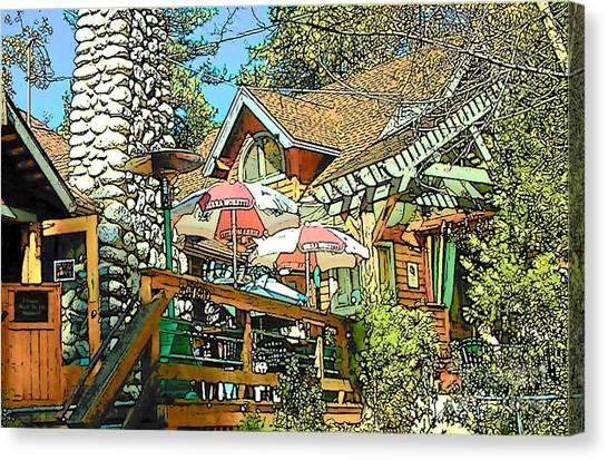 Idyllwild - Cafe Aroma Canvas Print