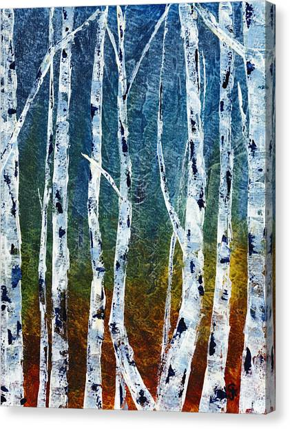 Canvas Print - If A Tree Falls by Cindy Johnston