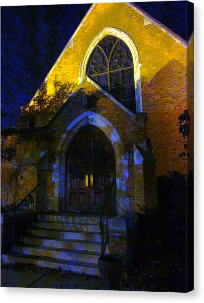 If Longer Nights Grow Longest Canvas Print by Guy Ricketts