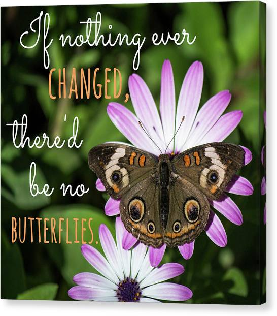 If Nothing Ever Changed Canvas Print