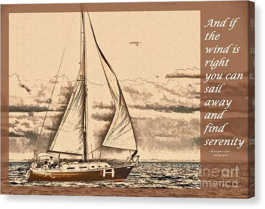 If The Wind Is Right Canvas Print