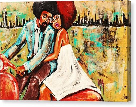 Canvas Print - If You Are Good Then Im Good And We Are Good  by Artist RiA