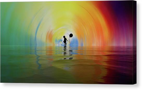 If You Are Reading This... Congratulations... You Are Alive Canvas Print