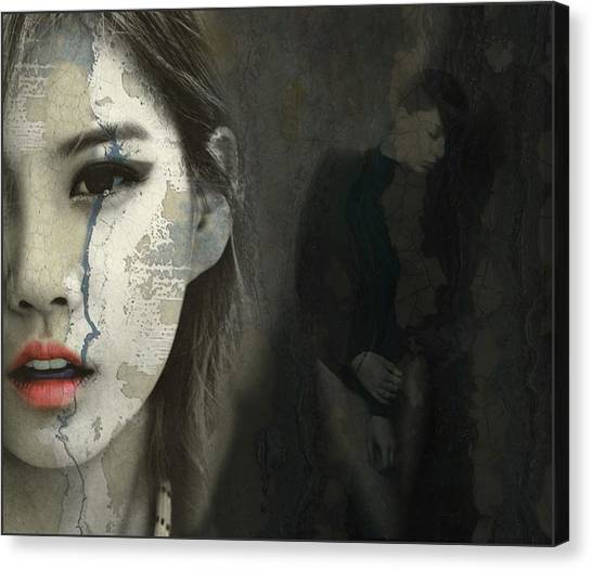 Red Eye Canvas Print - If You Don't Know Me By Now by Paul Lovering