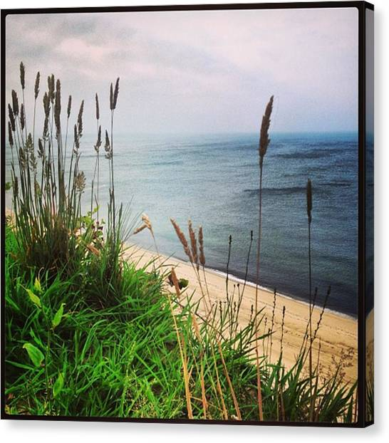 Heaven Canvas Print - #igaddict #iphonesia #beach #cliff by Ben Berry