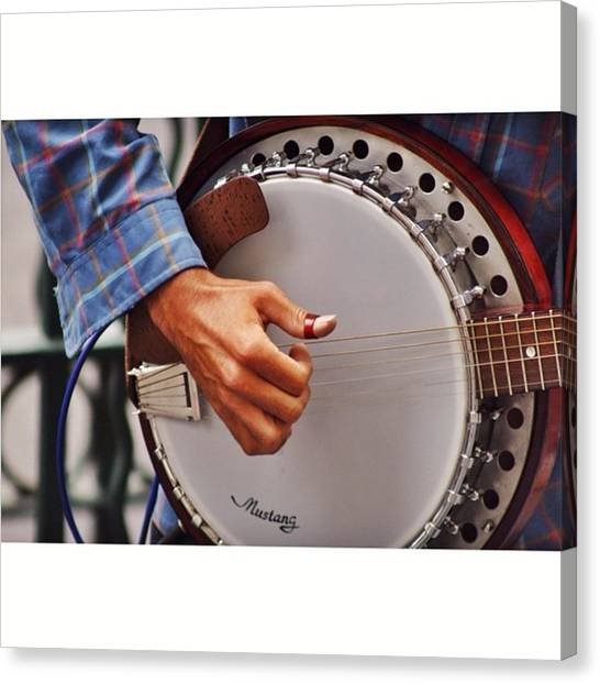Banjos Canvas Print - #igersmelbourne #photograph by Owen Hedley Photography