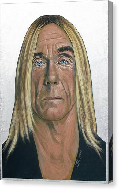 Iggy Pop 2 Canvas Print