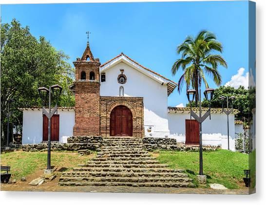 Iglesia De San Antonio Canvas Print