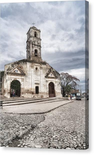 Iglesia De Santa Ana Canvas Print