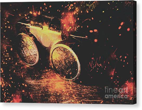 Factories Canvas Print - Ignite And Inspire by Jorgo Photography - Wall Art Gallery