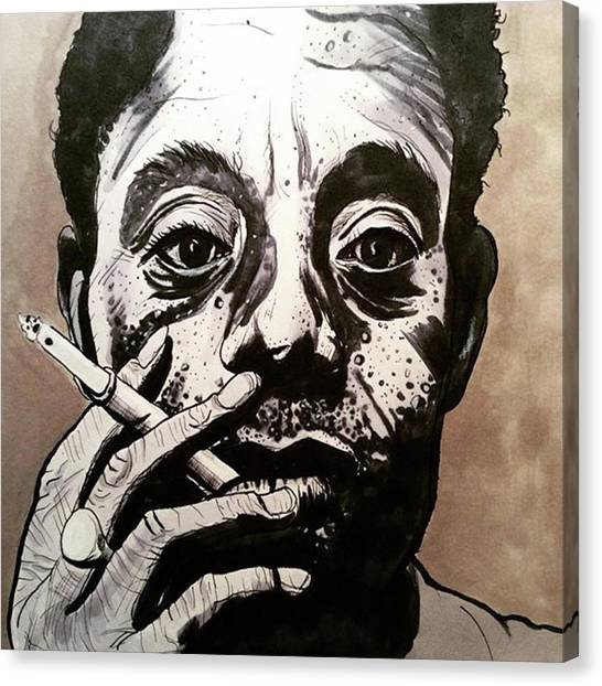 Canvas Print - James Baldwin by Russell Boyle