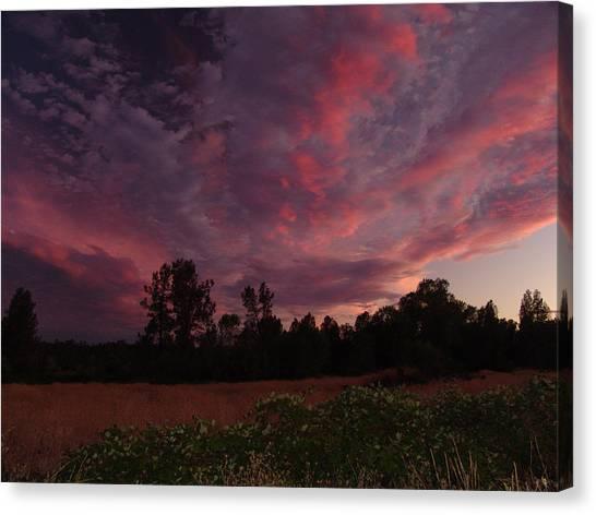 Igo Sunset Canvas Print