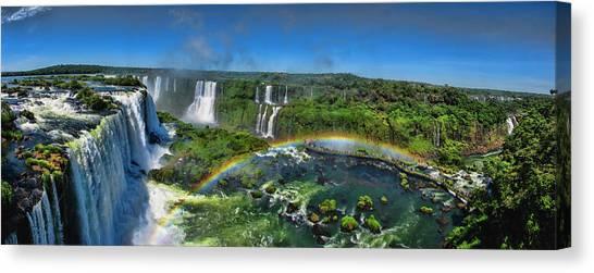 Iguazu Panorama Canvas Print