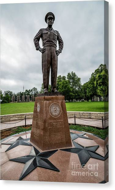 Harry Truman Canvas Print - Ike by Jon Burch Photography