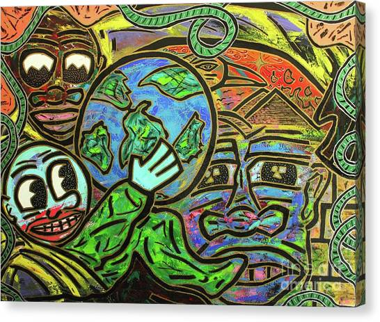 Ikembe's Dream Canvas Print