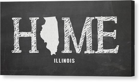 Illinois State University Canvas Print - Il Home by Nancy Ingersoll
