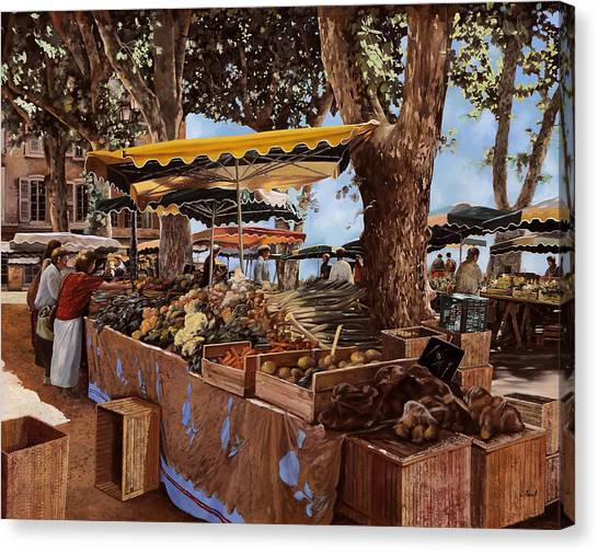 Open Canvas Print - il mercato di St Paul by Guido Borelli